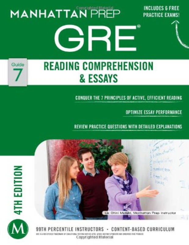 Reading Comprehension & Essays GRE Strategy Guide, 4th Edition