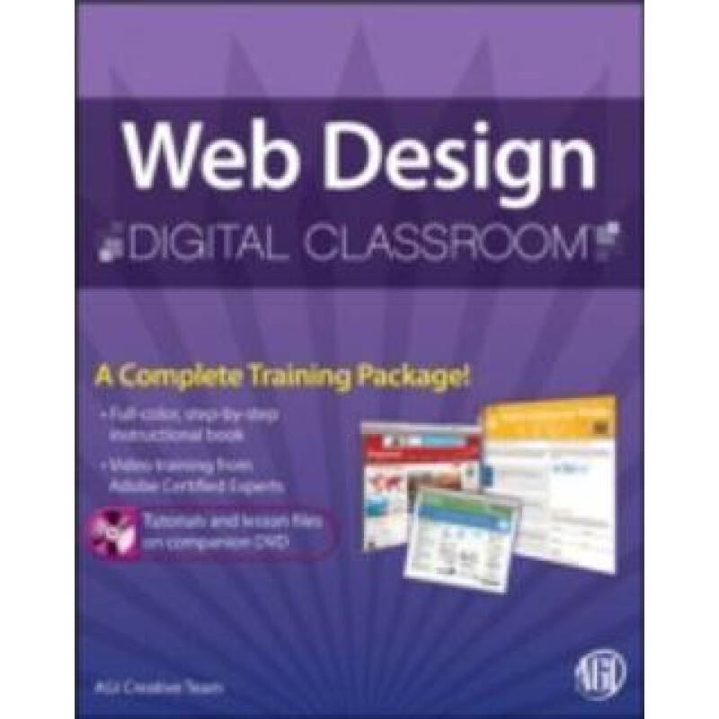 Web Design with HTML and CSS Digital Classroom, (Book and Video Training)[网页设计数字课堂]