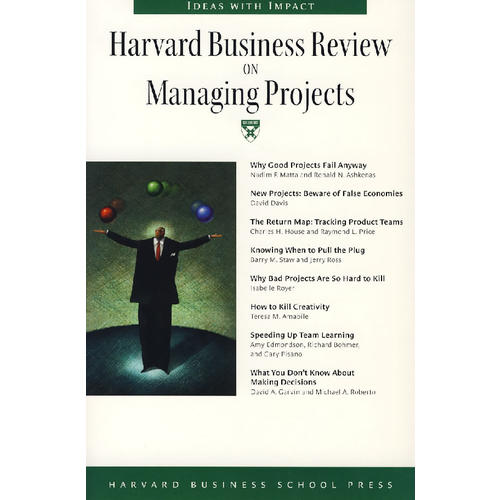 Harvard Business Review ON Managing Projects