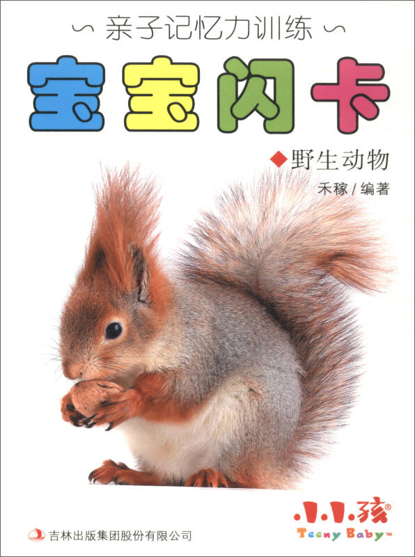 小小孩·亲子记忆力训练:宝宝闪卡(野生动物)