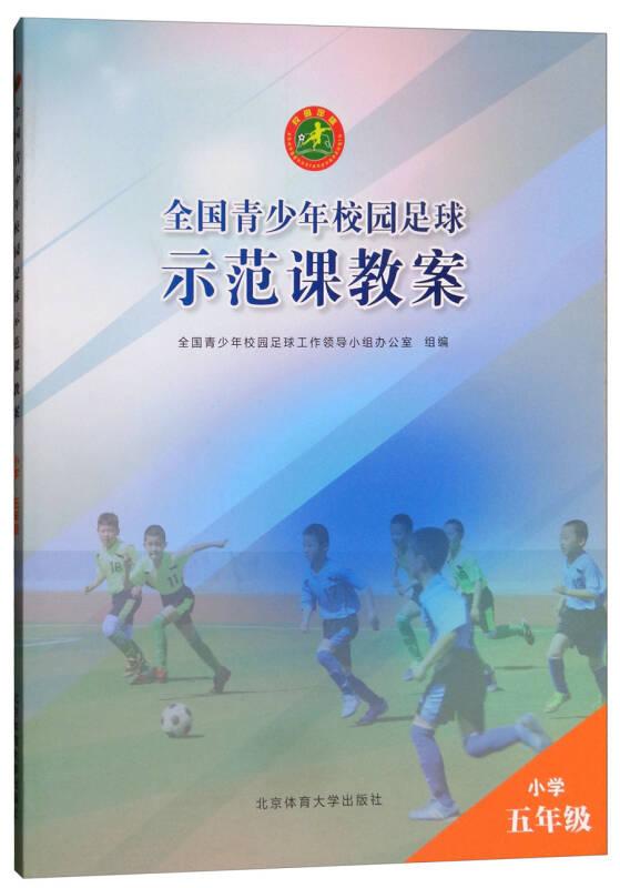 全国青少年校园足球示范课教案:小学五年级