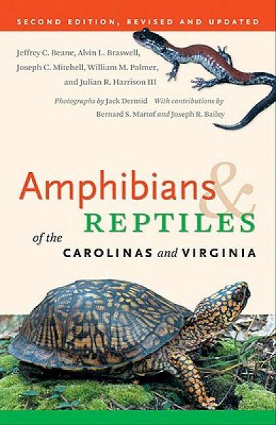 Amphibians & Reptiles of the Carolinas and Virginia