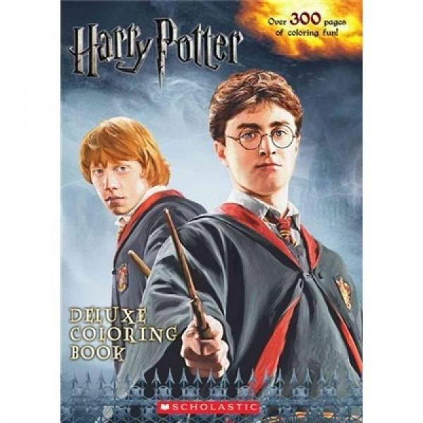 Harry Potter Deluxe Coloring Book  哈利波特豪华彩色图集
