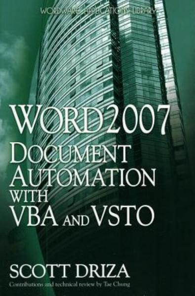 Word2007DocumentAutomationwithVBAandVSTO