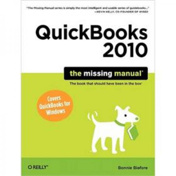 QuickBooks 20755: The Missing Manual (Missing Manuals)