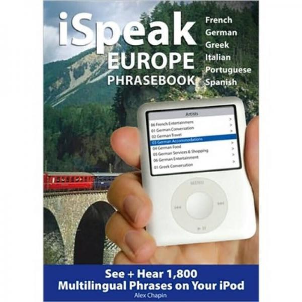 iSpeak Europe Phrasebook [MP3 CD]
