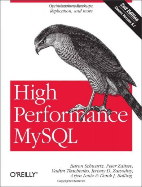 High Performance MySQL Second Edition