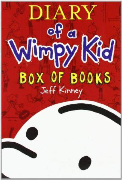 Diary of a Wimpy Kid, Box of Books (1-5)小屁孩日记套装1-5