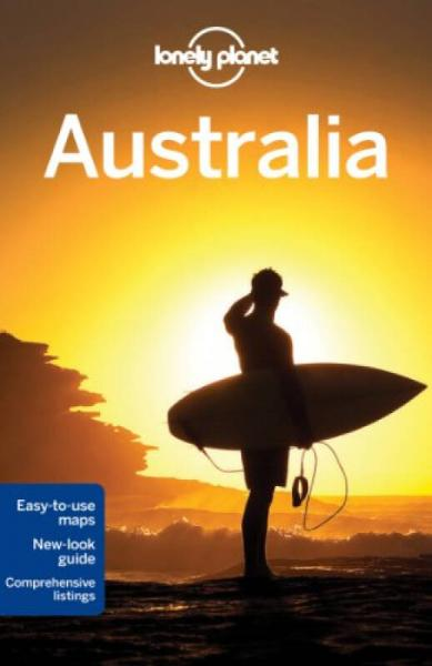 Lonely Planet: Australia (Travel Guide)孤独星球旅行指南:澳大利亚 英文原版