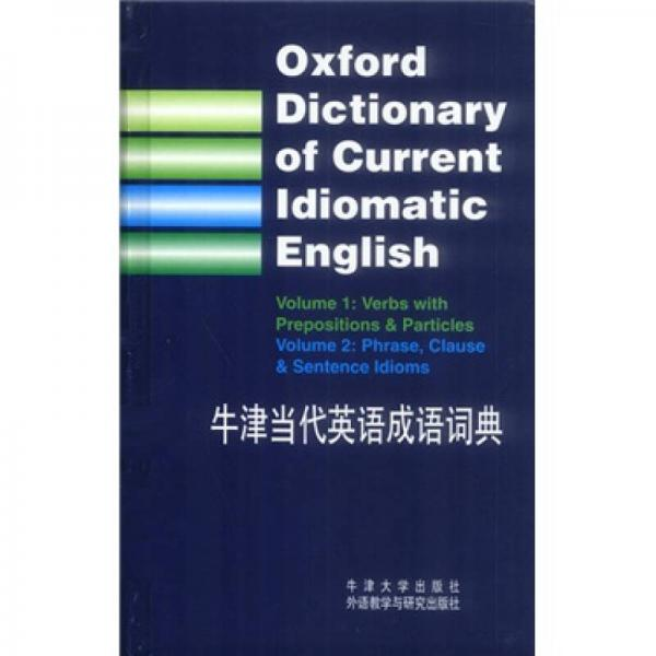 Oxford Dictionary of Contemporary English Idioms