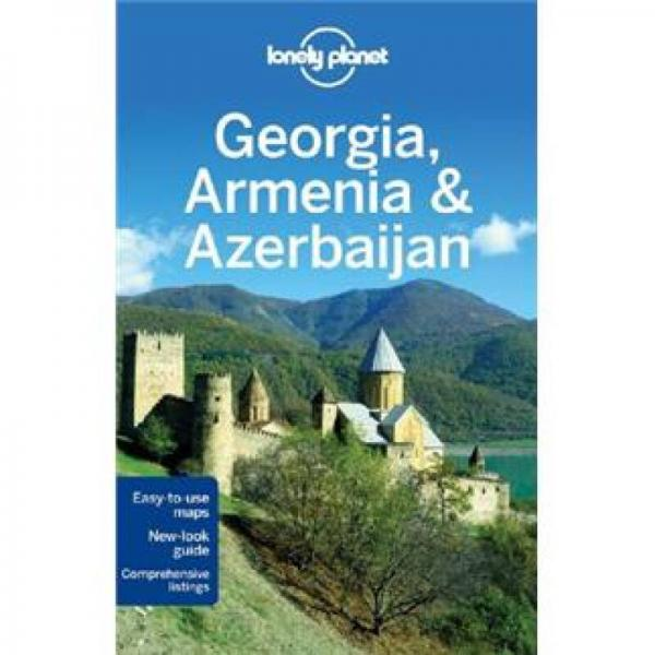 Lonely Planet Georgia Armenia & Azerbaijan
