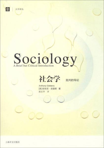 社会学:批判的导论