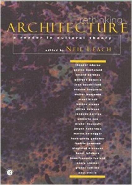 Rethinking Architecture