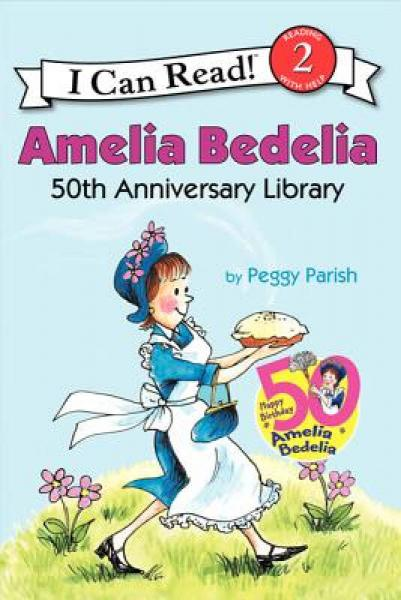 Amelia Bedelia, 50th Anniversary Collection (I Can Read, Level 2)阿米莉亚·贝迪利亚40周年合集