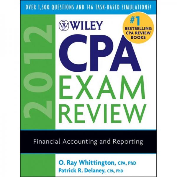 Wiley CPA Exam Review 2012, Financial Accounting and Reporting
