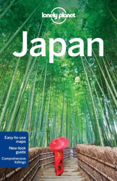 Japan (Lonely Planet Country Guides)孤独星球旅行指南:日本 英文原版