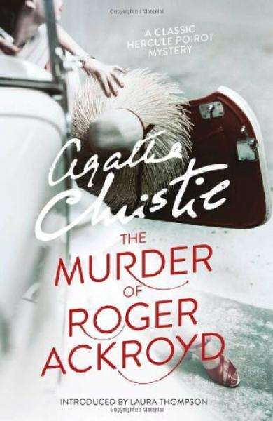 Poirot Photographic Style Covers:The Murder of Roger Ackroyd