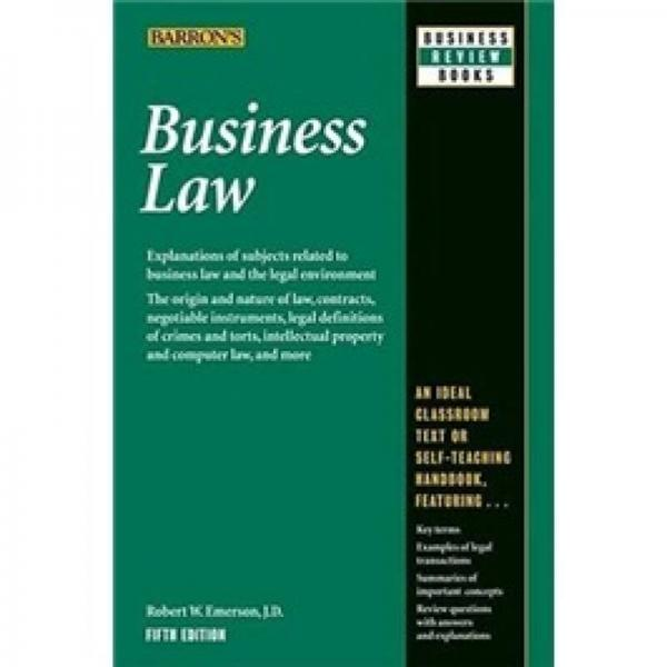 Business Law: 5th Edition 锛�Business Review Series锛�