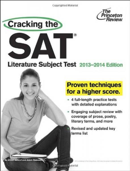 Cracking the SAT Literature Subject Test, 2013-2014 Edition (College Test Preparation)