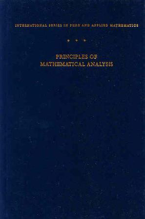 Principles of Mathematical Analysis