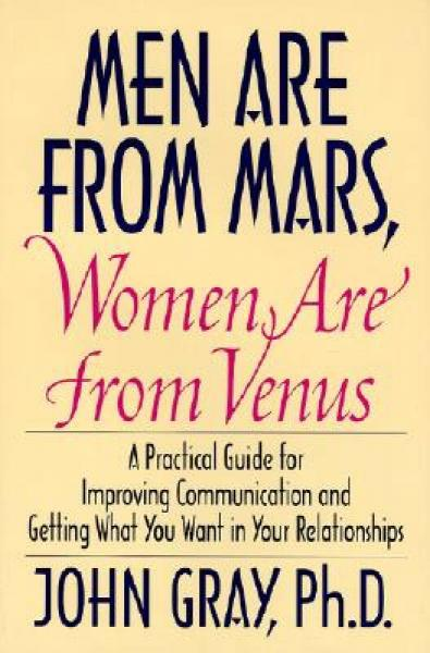 Men Are from Mars, Women Are from Venus[男人来自火星,女人来自金星]