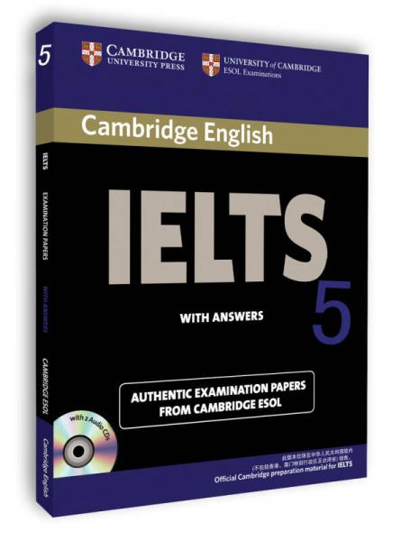 Cambridge IELTS Exam Questions 5