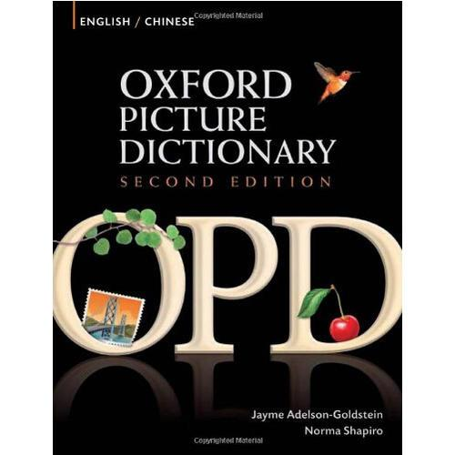 "Oxford Picture Dictionary Second Edition: English-Chinese Edition The popular picture dictionary of the ""English-Chinese Bilingual Edition of Oxford Graphic Dictionary"" helps ESL students develop vocabulary applications and critical thinking skills, improve their overall level, and should be used by English lovers studying and immigrating!"