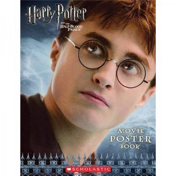 Harry Potter and the Half-Blood Prince Movie Poster Book  哈利波特与混血王子 英文原版