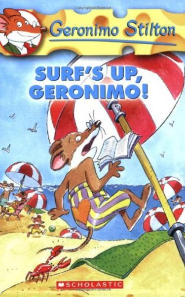 Geronimo Stilton #20: Surf's Up Geronimo!  老鼠记者20:冲浪吧,杰罗尼摩!