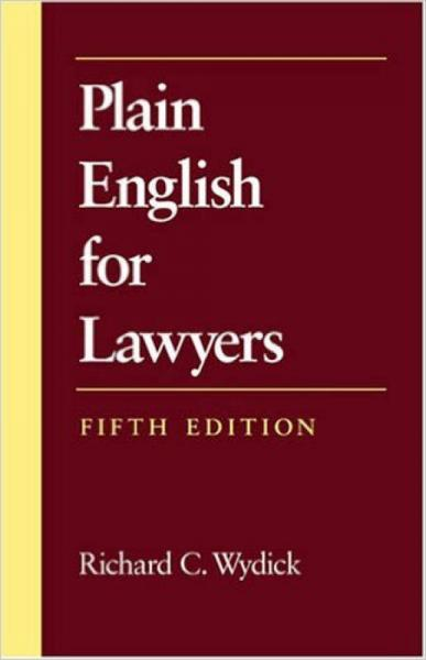 Plain English for Lawyers (5th Edition)