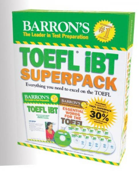 Barrons TOEFL iBT Superpack, 2nd Edition