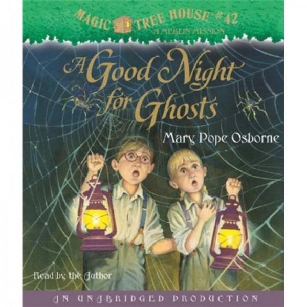 A Good Night for Ghosts (Magic Tree House #42) (Audio CD)神奇树屋42 CD