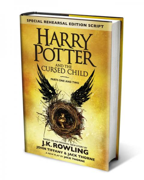 Harry Potter and the Cursed Child – Parts I & II 哈利波特与被诅咒的孩子(英国版) 英文原版