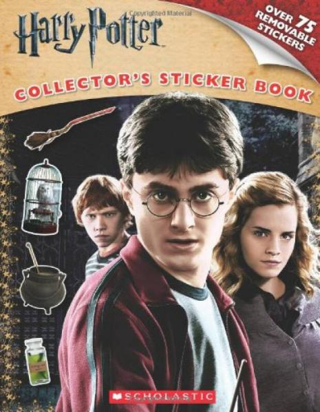 Harry Potter and the Deathly Hallows Part I: Sticker Book (Harry Potter Movie T)哈利波特和死神圣物1:贴纸书