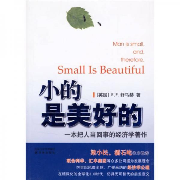 Small is wonderful