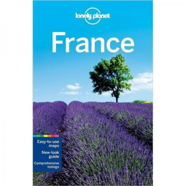 Lonely Planet: France瀛ょ��������琛�����锛�娉���