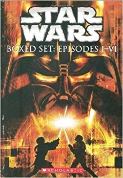 Star Wars Boxed Set: Episodes I-VI  星球大战盒装1-6册