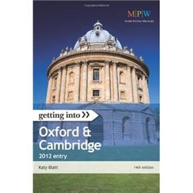 Getting Into Oxford & Cambridge 2012 entry