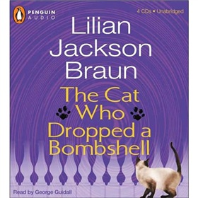 The Cat Who Dropped a Bombshell [Audio CD]