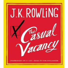 The Casual Vacancy(Audio CD)[偶发空缺(听力书)]