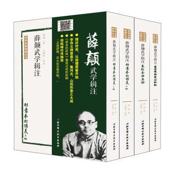 薛颠武学辑注(套装全四册)