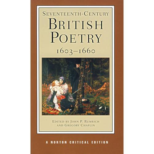 SeventeenthCentury British Poetry 16031660(十七世纪英国诗歌 16031660)