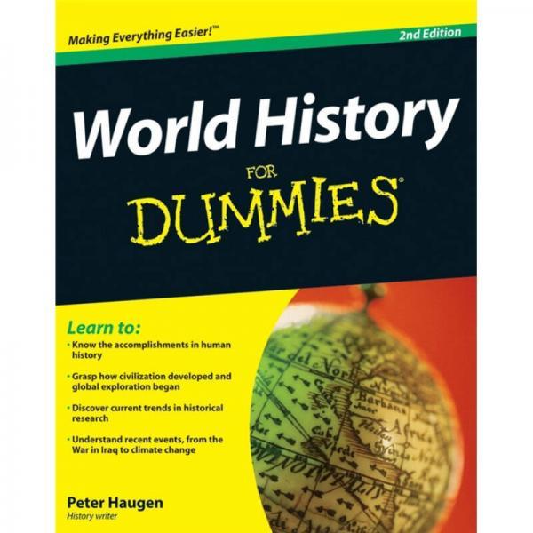 World History For Dummies  世界历史傻瓜书
