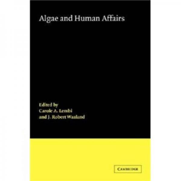 Algae and Human Affairs