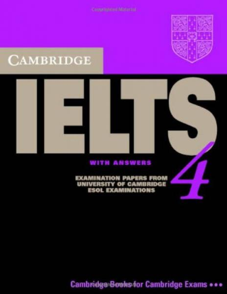 Cambridge IELTS 4 Students Book with Answers