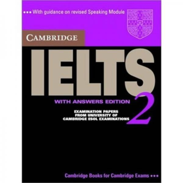 Cambridge IELTS 2 Students Book with Answers