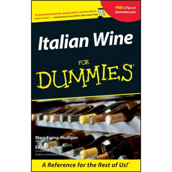 Italian Wine For Dummies[意大利酒达人迷]