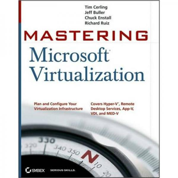 Mastering Microsoft Virtualization[精通微软虚拟化]