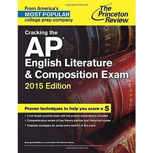 CRACK AP ENGL LIT 2015   美国大学预修课程系列丛书之《英国文学》  2015年新版