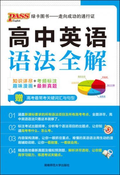 2013版PASS高中英语语法全解